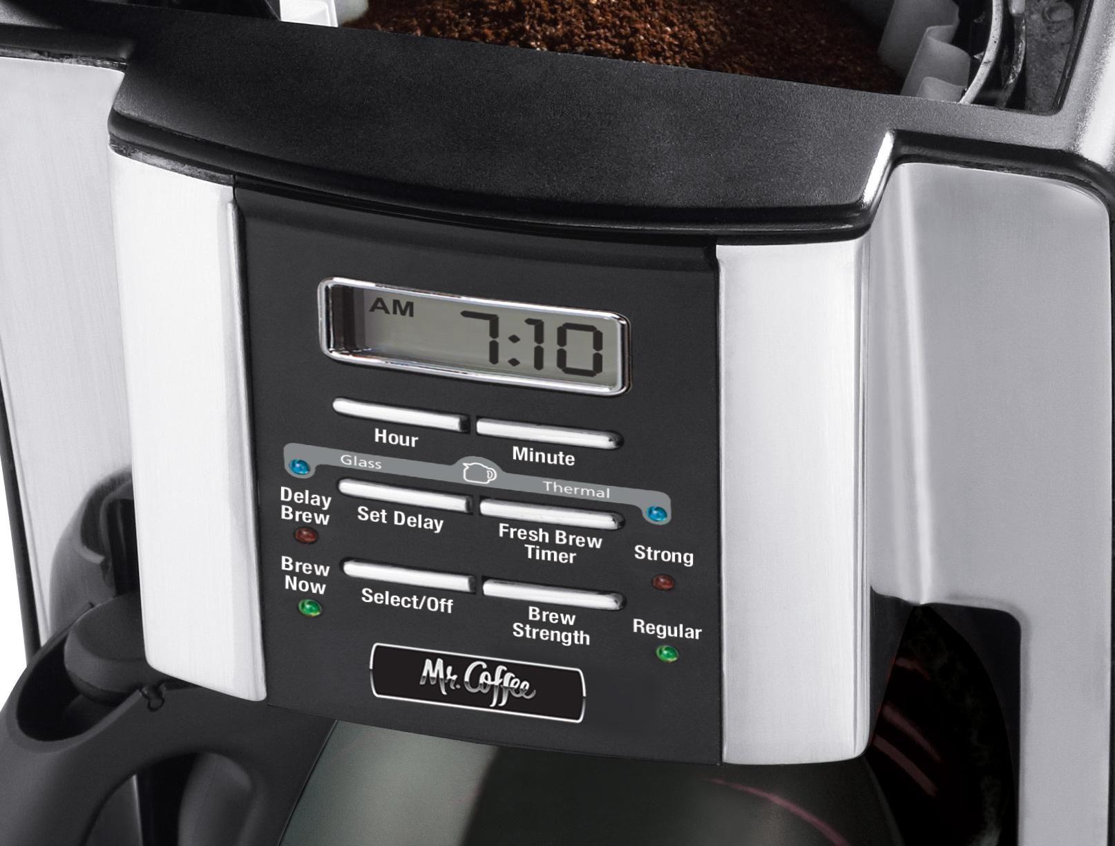 Mr. Coffee BVMC-SJX33GT 12-Cup Programmable Coffeemaker,