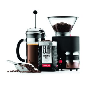 Bodum Bistro Electric Burr Coffee Grinder, Black