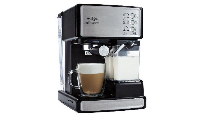 Mr Coffee Cafe Barista Espresso Maker With Automatic Milk Frother Bvmc Ecmp1000